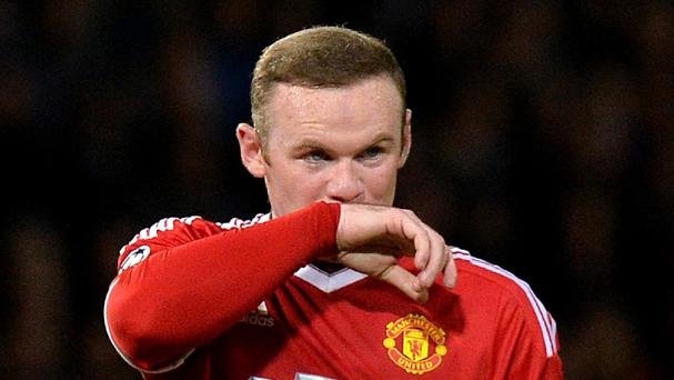 Wayne Rooney has not had the best of times this season
