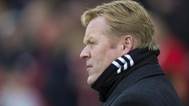 Southampton manager Ronald Koeman refuses to criticise his team in public