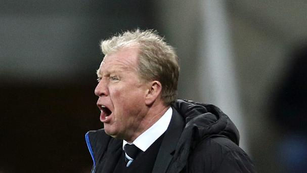Newcastle head coach Steve McClaren is refusing to look too far ahead