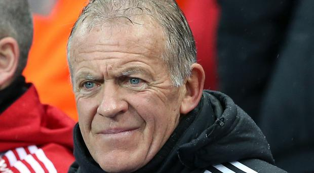 Swansea caretaker manager Alan Curtis, pictured, says he has been Googling Marcelo Bielsa