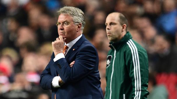Guus Hiddink is playing a waiting game with Chelsea.