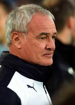 Sitting tight: Claudio Ranieri doesn't plan any signings