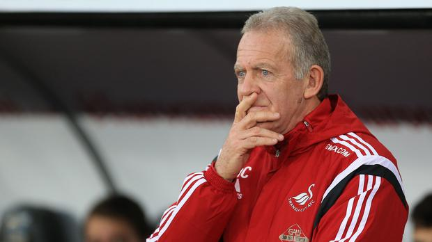 Caretaker manager Alan Curtis is set to take charge of Swansea's festive fixtures
