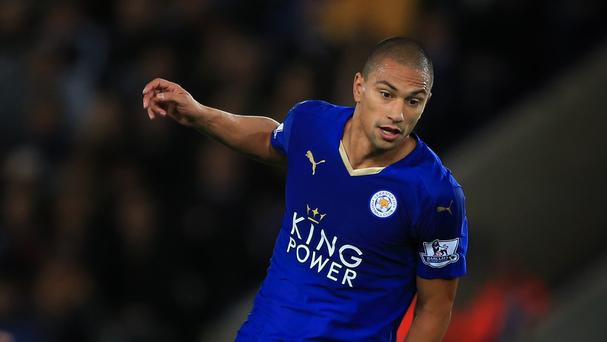 Leicester's Gokhan Inler has struggled for game time at the league leaders this season.