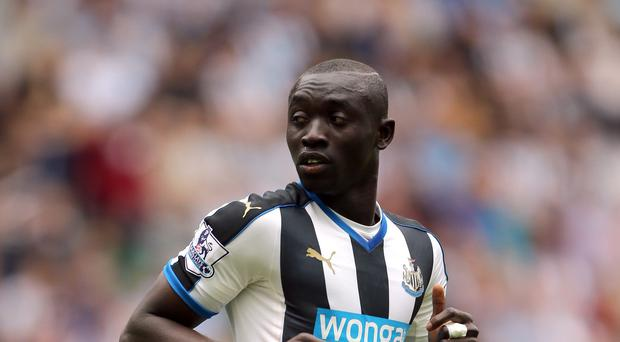 Newcastle striker Papiss Cisse could be missing over Christmas