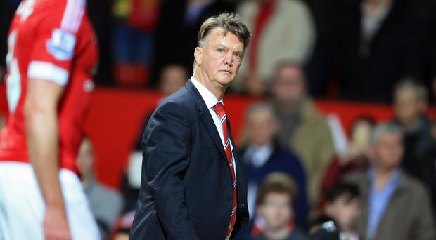 Louis van Gaal is under pressure following a poor run of results