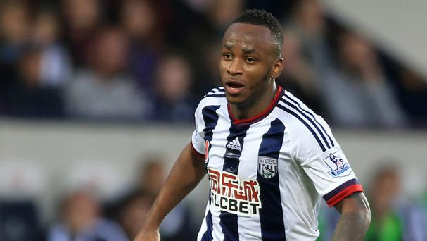 Saido Berahino has not started a game for West Brom since October.