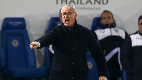 Claudio Ranieri has hailed the 'fantastic' stamina of his Leicester team