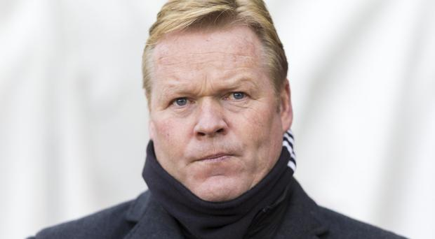 Ronald Koeman, pictured, remains confident he can turn Southampton's poor form on its head