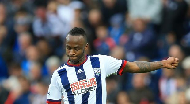 Saido Berahino has struggled for form this season since West Brom blocked a summer move to Tottenham.