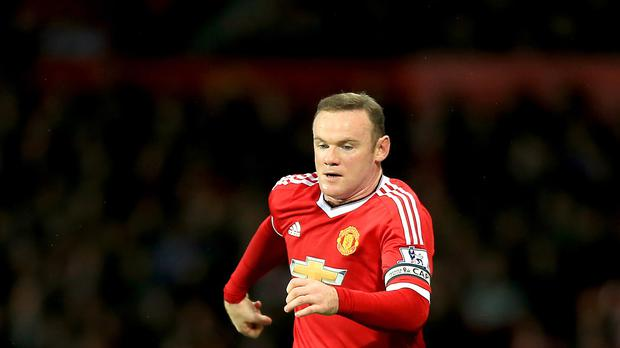 Wayne Rooney was left out of the United first team for Saturday's game