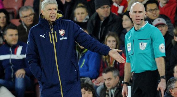 Arsene Wenger's Arsenal side were humbled 4-0 at Southampton