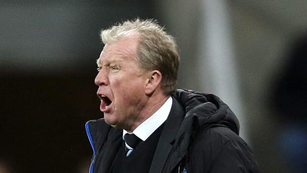 Newcastle head coach Steve McClaren is looking for a better second half of the season