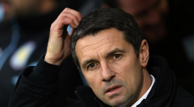 Aston Villa manager Remi Garde replaced Tim Sherwood in November but is yet to win.