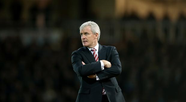Mark Hughes' Stoke are finishing 2015 in fine form.