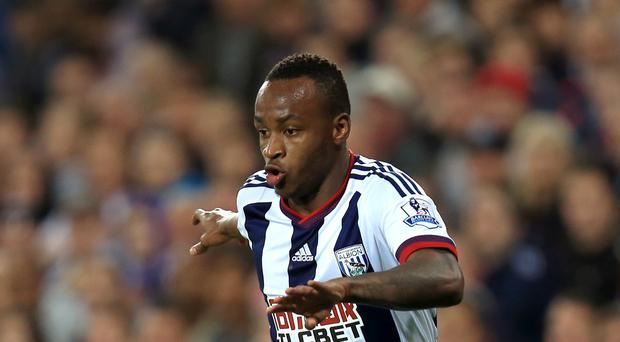 West Brom striker Saido Berahino has scored just three times this season.