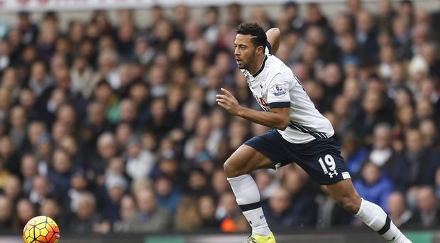 Tottenham's Mousa Dembele has picked up a groin injury