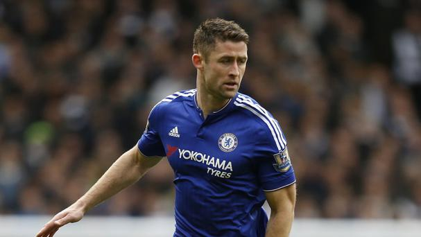 Chelsea defender Gary Cahill has a minor ankle problem