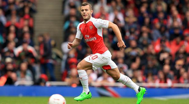 Jack Wilshere is likely to be out until February with a broken leg