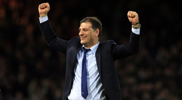 Slaven Bilic is thinking big at West Ham