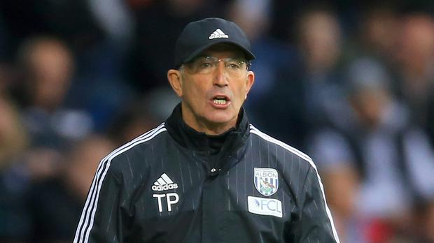 West Brom boss Tony Pulis had two spells managing Saturday's visitors Stoke