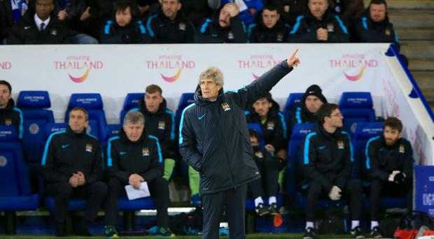 Manuel Pellegrini's Manchester City face the next test of their title credentials at Watford
