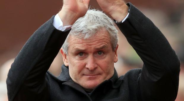 Mark Hughes (pictured) succeeded Tony Pulis as Stoke manager in 2013.