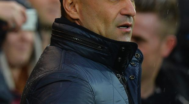 Roberto Martinez, Manager of Everton during the Barclays Premier League match between Norwich City and Everton at Carrow Road on December 12 2015 in Norwich, United Kingdom.