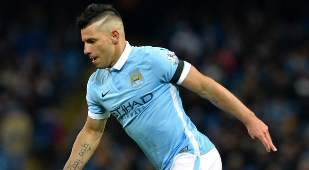 Sergio Aguero has been below par for Manchester City since returning from injury