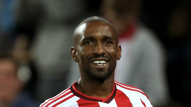Jermain Defoe scored twice as Sunderland won the first time in six attempts.