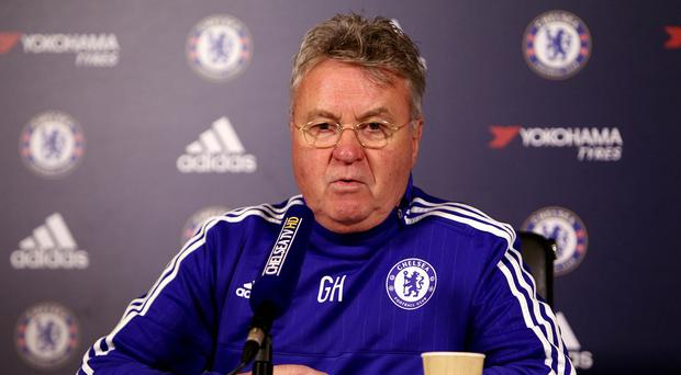 Chelsea interim manager Guus Hiddink wants his players to take command when the whistle blows.