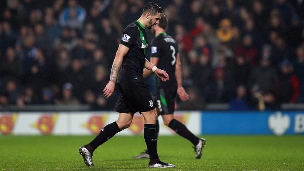 Stoke will likely appeal Geoff Cameron's red card against West Brom