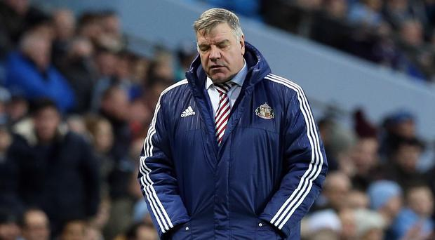 Sunderland manager Sam Allardyce admits they have only themselves to blame