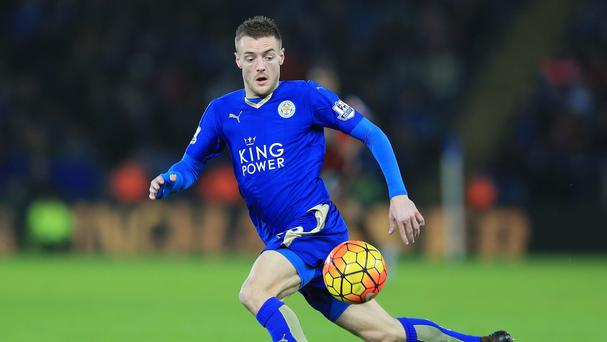 Jamie Vardy could be set for a spell on the sidelines