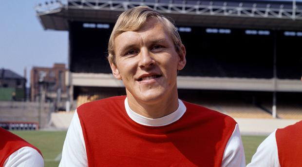 Former Arsenal double winner John Roberts has died at the age of 69