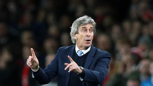 Manuel Pellegrini feels he has had greater support at Manchester City than he did at Real Madrid