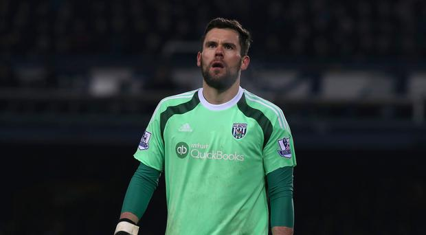 Ben Foster has not played for West Brom since injuring his knee last March.