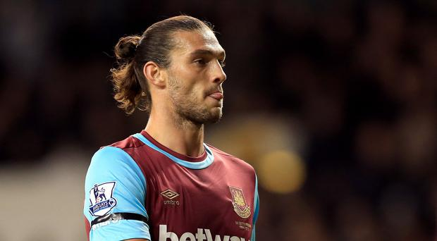 Andy Carroll remains wanted at West Ham