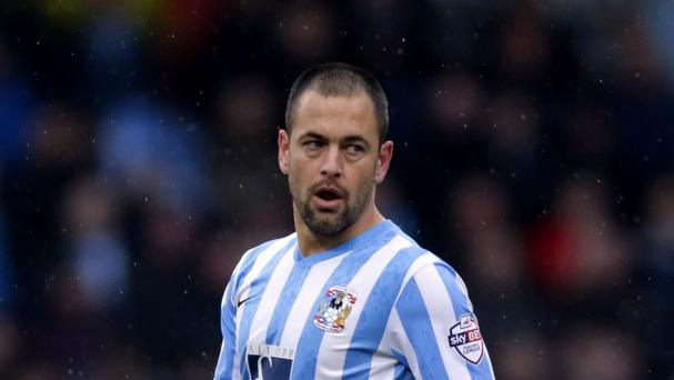 Joe Cole had been on loan at Coventry since October after failing to play at Aston Villa.