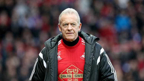 Alan Curtis will take charge of Swansea until the end of the season
