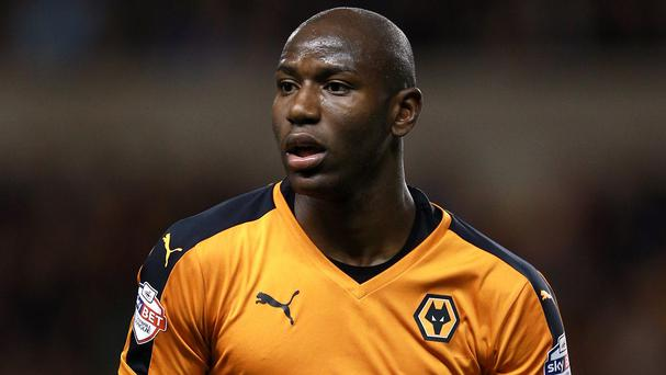 Benik Afobe is due to complete a move to Bournemouth after a year at Wolves