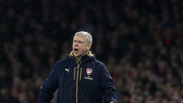Arsenal manager Arsene Wenger takes his Barclays Premier League leaders to Liverpool on Wednesday.