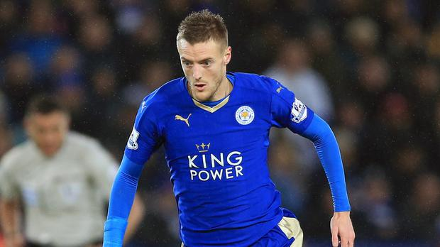 Leicester are hoping top scorer Jamie Vardy could be fit for Wednesday's trip to Tottenham