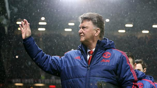 Fans vented their anger at Louis van Gaal during the narrow win over Sheffield United