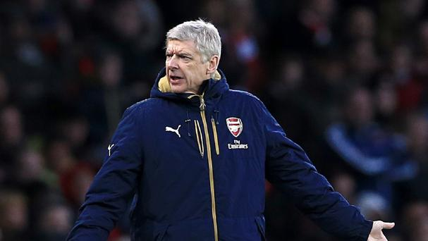 Arsene Wenger has guided Arsenal to the top of the Barclays Premier League