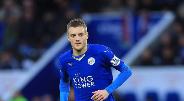 Leicester's Jamie Vardy is expected to return following a groin operation at Tottenham.