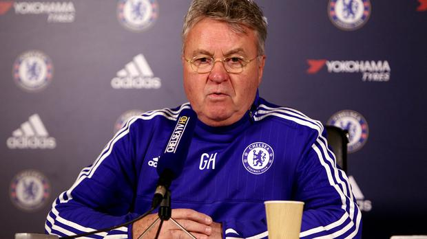 Guus Hiddink's Chelsea are bidding to make up a 13-point gap to fourth-placed Tottenham