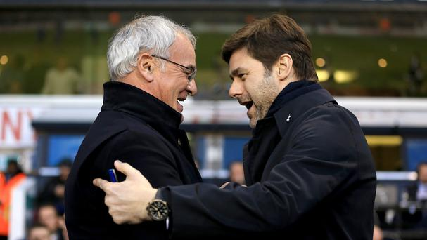 Claudio Ranieri's Leicester and Mauricio Pochettino's Tottenham meet on Wednesday for the second time in four days