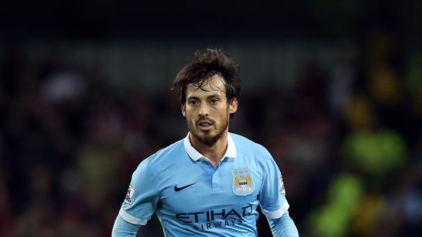 David Silva is prepared to do his share of defensive work for Manchester City