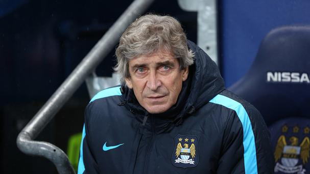 Manuel Pellegrini felt Manchester City should have had a penalty